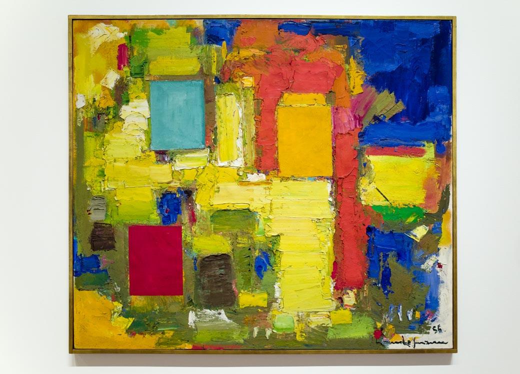 Yellow Burst, 1956 – Hans Hofmann