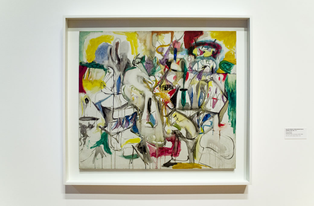How My Mother's Embroidered Apron Unfolds in My Life, 1944 – Arshile Gorky